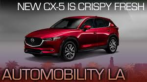 mazda corporate mazda cx 5 zoom zoom with a vengeance la auto show 2016 youtube