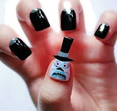 22 simple and cute halloween nail art ideas all for fashion design