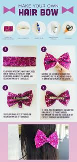 how to make hair bows diy make your own hair bow disney style