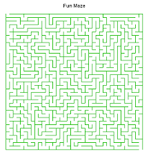maze puzzle worksheet maker sample