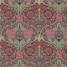 William Morris Wallpaper by William Morris 214703 Honeysuckle U0026 Tulip Morris Archive Iii