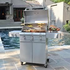 saber 500 r50sc0012 3 burner ss freestanding lp grill