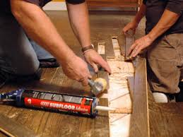 Laminate Floor Adhesive How To Repair Hardwood Plank Flooring How Tos Diy