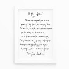 will you be my bridesmaid poems gift poem print by de fraine design london