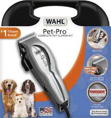 pet grooming clippers amazon com wahl pet pro dog grooming
