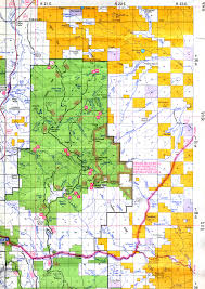 Map Of Eastern Oregon by Buy And Find Oregon Maps Bureau Of Land Management Hunting Units