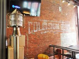 Restaurant Patio Heaters by First Look Collision Bend Brewery In The Flats Scene And Heard