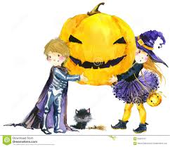 cat halloween background images halloween witch cat and pumpkin stock photo image 44912969