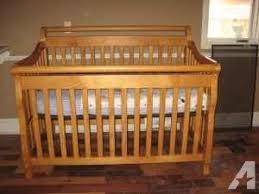 Convertible Sleigh Crib Child Craft Convertible Crib Flora For Sale In Jackson