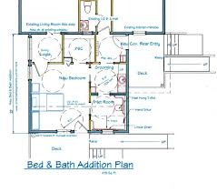 floor plans for home additions benefits of an accessible bed and bath addition new mobility
