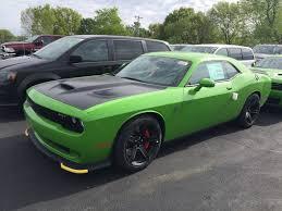 Dodge Challenger Green - go green hc challenger available srt hellcat forum
