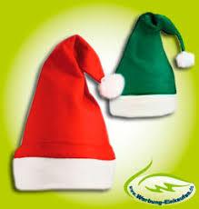 weihnachtsmützen nikolausmützen aus filz günstig bestellen