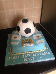 manchester badges cake soccer theme cake cake