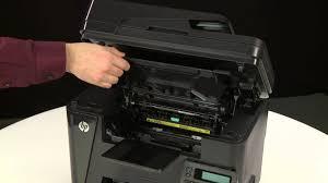 resetter hp laserjet m1132 paper jam error message displays on the control panel hp laserjet