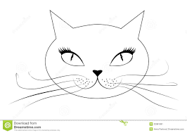 face cat clipart clipground