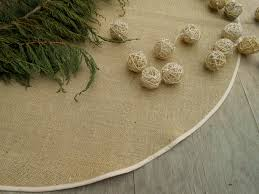 christmas burlap tree skirt rustic christmas tree skirt