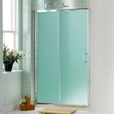 home design frameless frosted glass shower doors subway tile