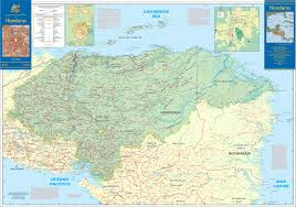 map of roads large detailed road map of honduras honduras large detailed road