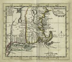 New England Colonies Map by The U201cnew England U201d Cartouche Tablets Tableaux And Theatricality