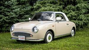 nissan figaro interior we take a ride in one of the few nissan figaros in north america