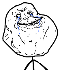 Forever Alone Guy Meme - image 4char forever alone guy high resolution png teh meme