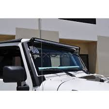 auxbeam windshield mounting brackets for 50 led light bar fit