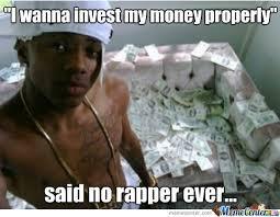 Meme Rapper - said no rapper ever by robrobandradeandrade meme center