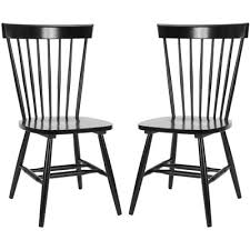 White And Wood Dining Chairs Modern Oak Dining Chairs Allmodern