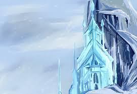 frozen elsa u0027s castle by pottertwins186 on deviantart