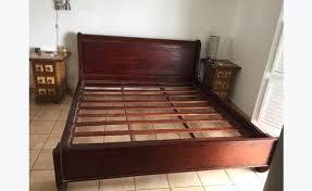 european king bed bed teak king size european 160 x 200 classified ad furniture