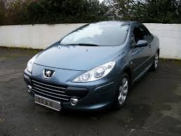 peugeot 307 cc 2 0 16v s 2dr service his auto fold mirror u2013 cc u0026c