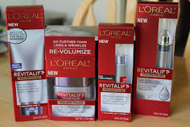 French Skin Care Products Clearly Claire L U0027oreal Revitalift Volume Filler Skincare Line