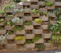 garden and backyard retaining walls retaining walls planting