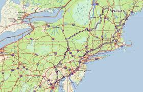 Maps Of New England by New England Dakotabiker