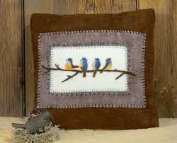 41 best wool felt applique pillows images on felted