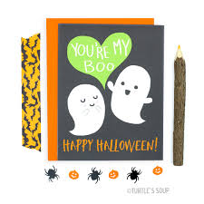 funny halloween card you u0027re my boo ghost love card