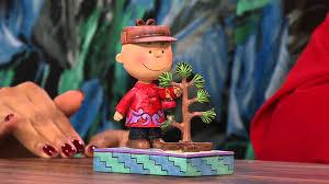 brown s christmas tree jim shore peanut gallery brown s christmas tree 6 1 4