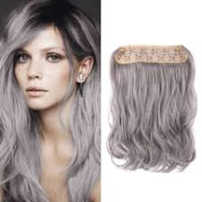 14 inch hair extensions in synthetic hair extensions 14 inch fashion silver grey