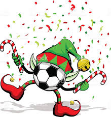 soccer ball or football christmas elf stock vector art 521793037