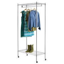Ideas Closet Organizers Lowes Portable Closet Lowes Lowes Storage Shop Style Selections Chrome Steel Garment Rack At Lowes Com