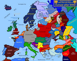 World War 1 Map Of Europe by Europe Pre World War 1 Map Europe Pre World War 1 Map