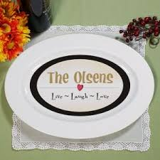 personalized grill platter monogrammed ceramic serving platter initialed serving platter