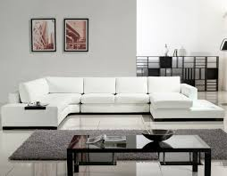 Leather Modern Sectional Sofa Living Room White Sectional Sofa 3 Piece Sectional Sofas