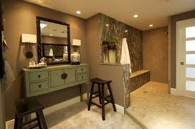 bathroom wooden bathroom cabinet design ideas with walk in shower