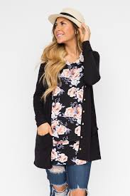 black favorite cardi available in m xl www shopwithsarahb com