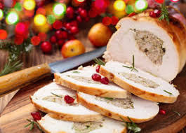 turkey breast stuffed with rice fruit and herbs recipes