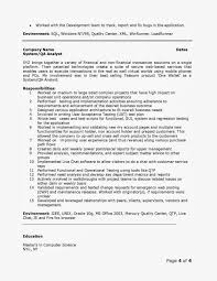 cover letter quality analyst resume bank quality analyst resume