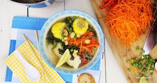cuisine poisson soupe de poisson asiatique simple et santé kedny cuisine