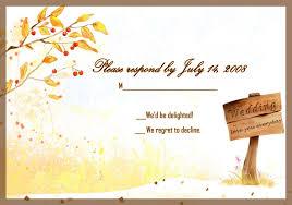 how to respond a wedding invitation response card wedding