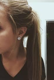 best cartilage earrings best 25 cartilage piercings ideas on ear peircings